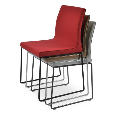 Polo Wire Stackable Chair by sohoConcept
