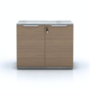 Broome Storage Cabinet - Latte Walnut