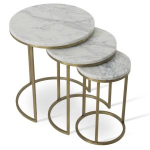 Alexy Marble Top Nesting Table by sohoConcept