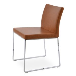 Aria Sled Chair by sohoConcept