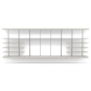 Bayard Wall Unit - Matte Chateau Gray Lacquer