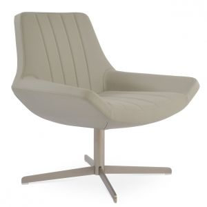 Bellagio Lounge 4 Star Swivel Armchair by sohoConcept