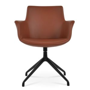 Bottega Spider Swivel Armchair by sohoConcept