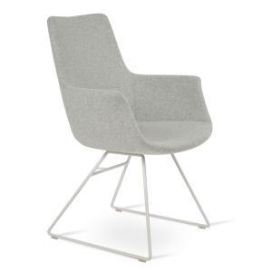 Bottega Wire High Back Armchair by sohoConcept
