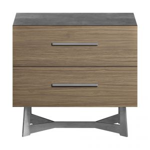 Broome Nightstand - Latte Walnut