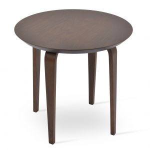Chanelle Wood Top End Table by sohoConcept