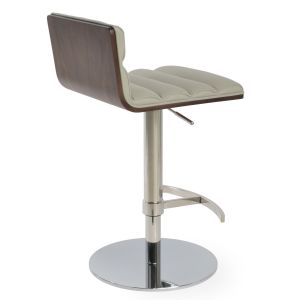 Corona Comfort Piston Swivel Stool by sohoConcept