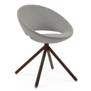 Crescent Stick Swivel Chair by sohoConcept