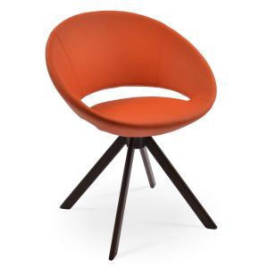 Crescent Sword Swivel Chair by sohoConcept