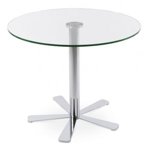 Daisy Glass Top Dining Table by sohoConcept