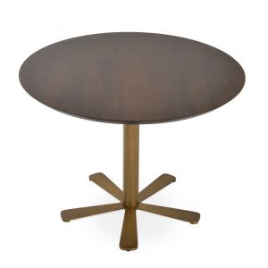 Daisy Wood Top Dining Table by sohoConcept