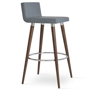 Dallas DR Wood Stool by sohoConcept