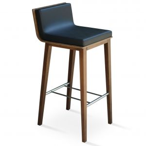 Dallas PL Wood Stool by sohoConcept