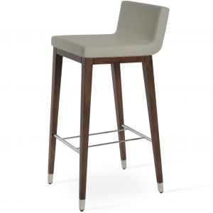 Dallas Wood Stool by sohoConcept