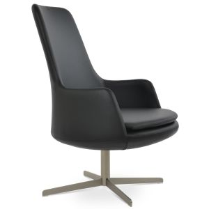 Dervish Lounge High Back 4 Star Armchair by sohoConcept