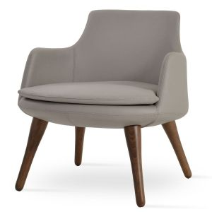 Dervish Lounge Wood Armchair by sohoConcept