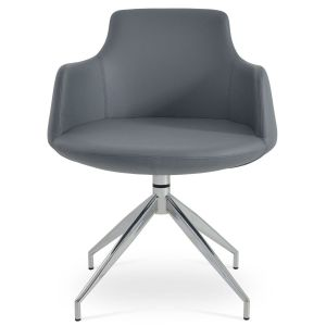 Dervish Spider Swivel Armchair by sohoConcept