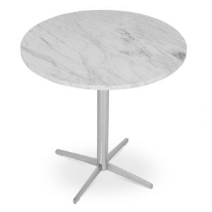 Diana Marble Top End Table by sohoConcept