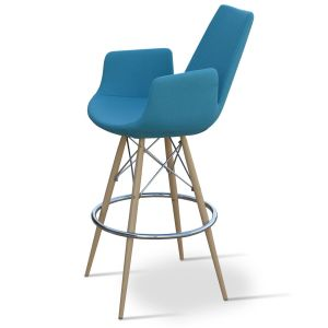 Eiffel Arm MW Stool by sohoConcept