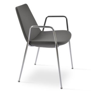 Eiffel Classy Chair with Armrest by sohoConcept