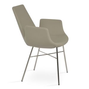 Eiffel Cross Armchair by sohoConcept