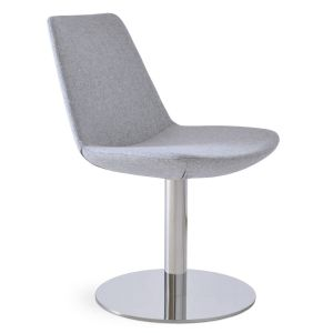 Eiffel Round Swivel Chair by sohoConcept