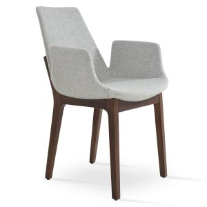 Eiffel Wood Armchair by sohoConcept