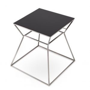 Gakko Glass Top End Table by sohoConcept