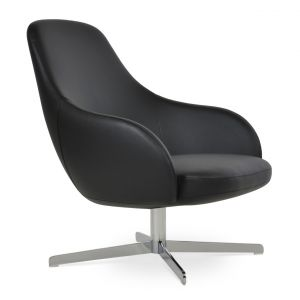 Gazel Lounge 4 Star Swivel Armchair by sohoConcept