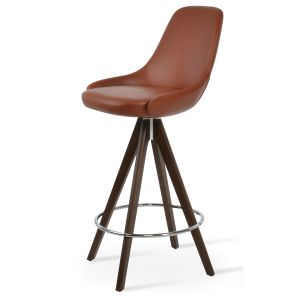 Gazel Pyramid Swivel Stool by sohoConcept