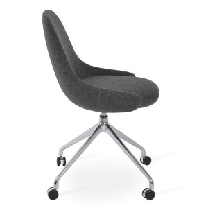 Gazel Spider Swivel Chair with Caster by sohoConcept