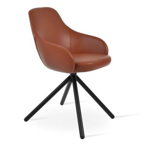 Gazel Stick Swivel Armchair by sohoConcept