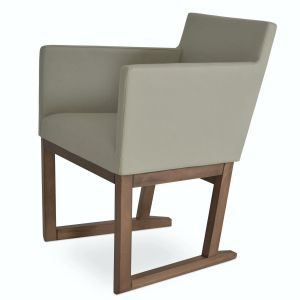 Harput Sled Wood Armchair by sohoConcept