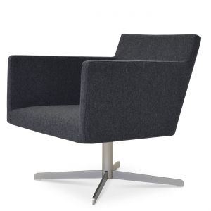 Harput Vogue Lounge 4 Star Swivel Armchair by sohoConcept