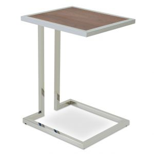 Hudson Wood Top End Table by sohoConcept