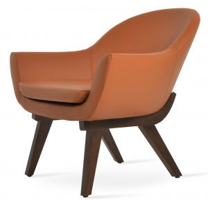 Madison Wood Lounge Armchair by sohoConcept
