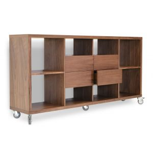 Malta Bookcase with Drawers by sohoConcept