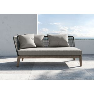 Netta Outdoor Left Arm Sofa by Modloft