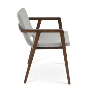 Nevada Wood Frame Armchair by sohoConcept