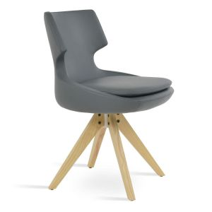 Patara Pyramid Swivel Chair by sohoConcept