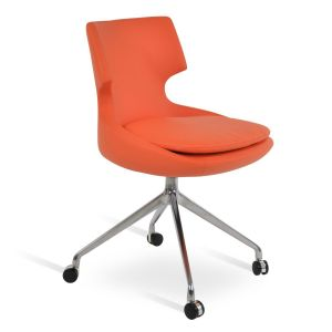 Patara Spider Swivel Chair with Casters by sohoConcept
