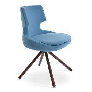 Patara Stick Swivel Chair by sohoConcept