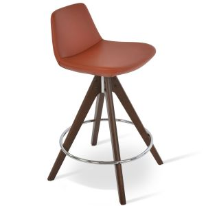 Pera Pyramid Swivel Stool by sohoConcept