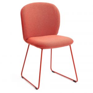 Petal Sled Dining Chair by M.A.D.