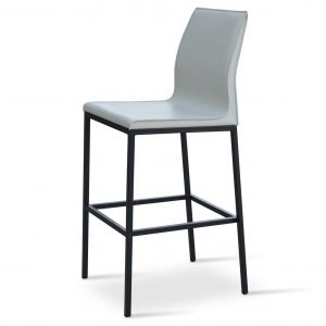 Polo Metal High Back Stool by sohoConcept
