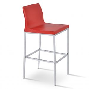 Polo Metal Low Back Stool by sohoConcept