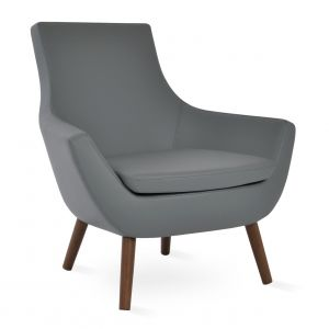 Rebecca Wood 4 Legs Armchair by sohoConcept