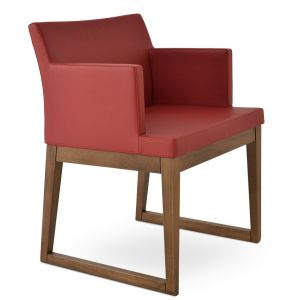 Soho Sled Wood Armchair by sohoConcept