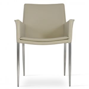 Tiffany Metal Armchair by sohoConcept