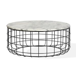 Violetta Marble Top Coffee Table by sohoConcept